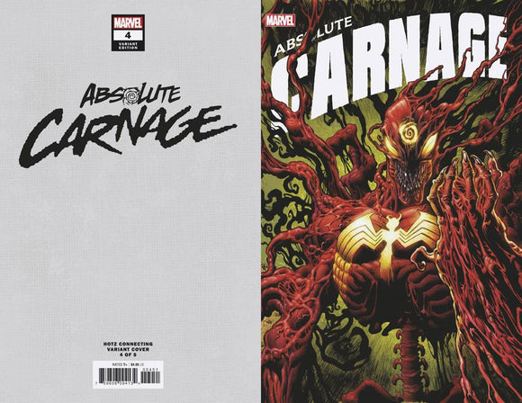 Absolute Carnage (2019) #4 (HOTZ CONNECTING VAR AC)
