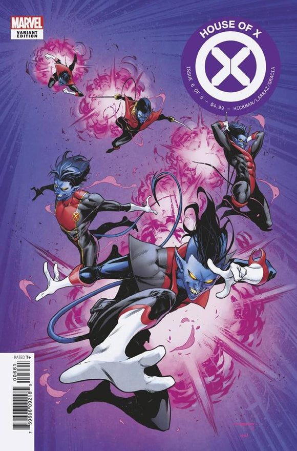 House of X (2019) #6 (COELLO CHARACTER DECADES VAR)