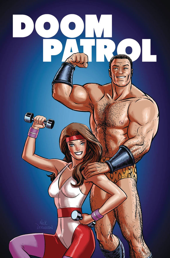 Doom Patrol The Weight of the Worlds (2019) #4