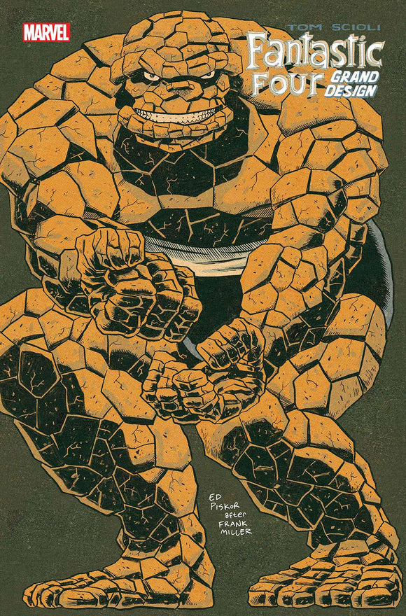 Fantastic Four Grand Design (2019) #1 (PISKOR VAR)