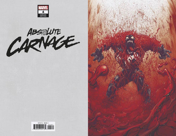Absolute Carnage (2019) #4 (1:100 STEGMAN VIRGIN VAR AC)