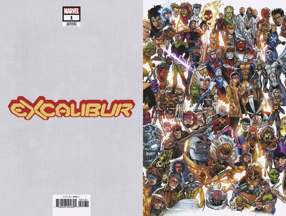 Excalibur (2019) #1 (BAGLEY EVERY MUTANT EVER VAR DX)