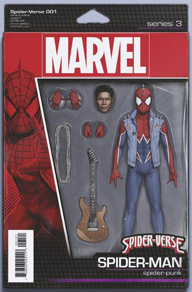 Spider-Verse (2019) #1 (CHRISTOPHER ACTION FIGURE VAR)