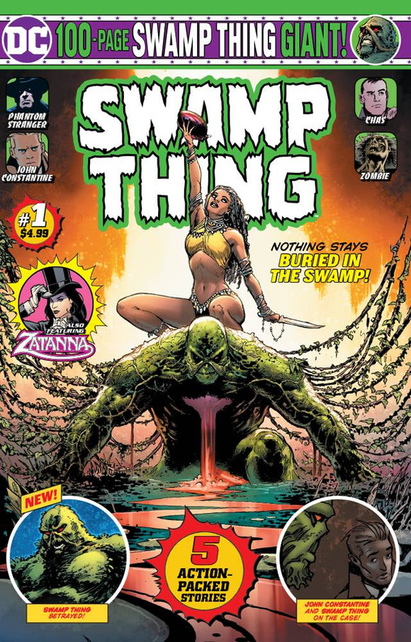 Swamp Thing Giant (2019) #1