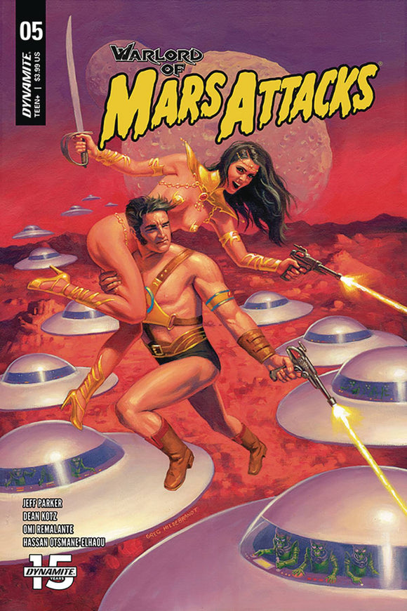 Warlord of Mars Attacks (2019) #5 (CVR A HILDEBRANDT)