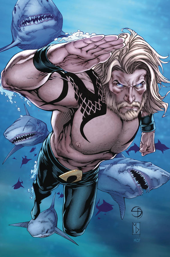 Aquaman (2016) #54 (CARD STOCK VAR ED YOTV)