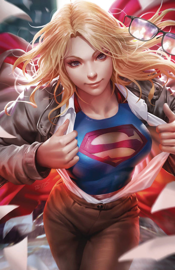 Supergirl (2016) #36 (CARD STOCK VAR ED YOTV)