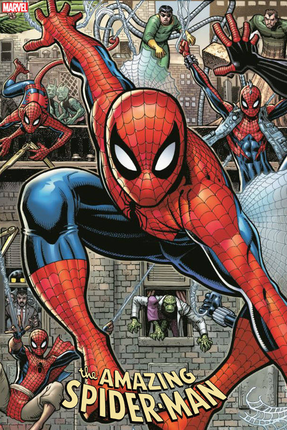 Amazing Spider-Man (2018) #32 (ART ADAMS 8 PART CONNECTING VAR)