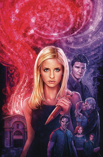 Buffy the Vampire Slayer Angel Hellmouth (2019) #1 (CVR B LAMBERT)