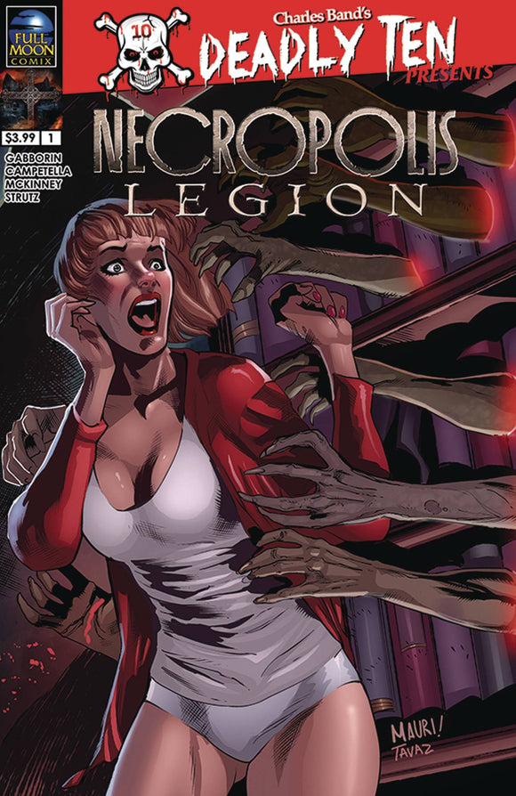 Deadly Ten Presens Necropolis Legion (2019) #3 (COVER A CAMPETELLA)