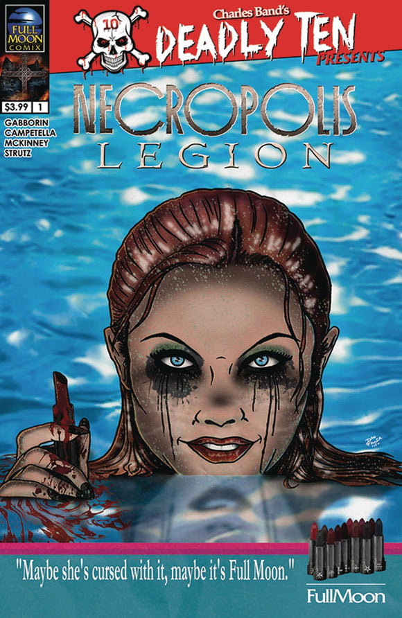 Deadly Ten Presens Necropolis Legion (2019) #3 (COVER B DAN FOWLER)