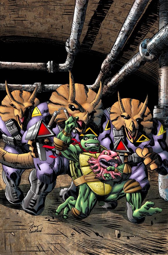 Teenage Mutant Ninja Turtles Urban Legends (2018) #19 (COVER A FOSCO)