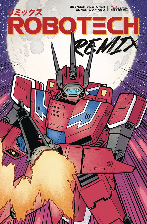 Robotech Remix (2019) #2 (COVER B DAMASO)