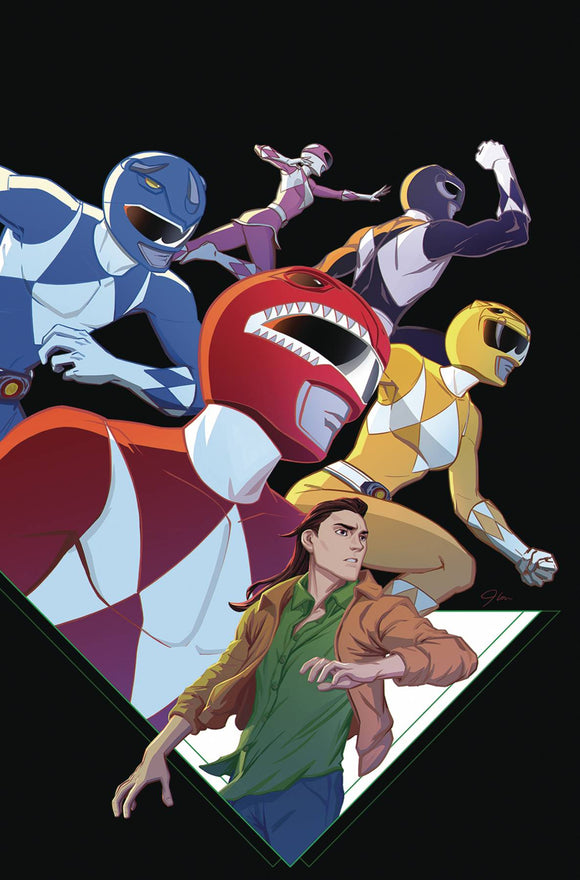 Go Go Power Rangers (2017) #25 (COVER A MAIN JLOU)