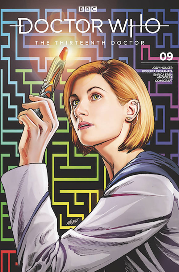 Doctor Who 13th (2018) #9 (SDCC 2019 VAR COVER)