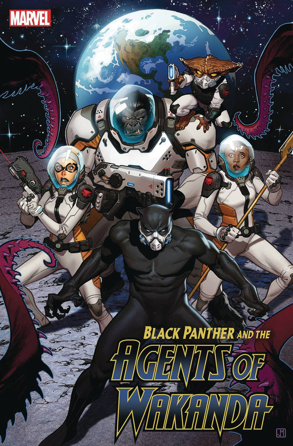 BLACK PANTHER AND AGENTS OF WAKANDA (2019) #3