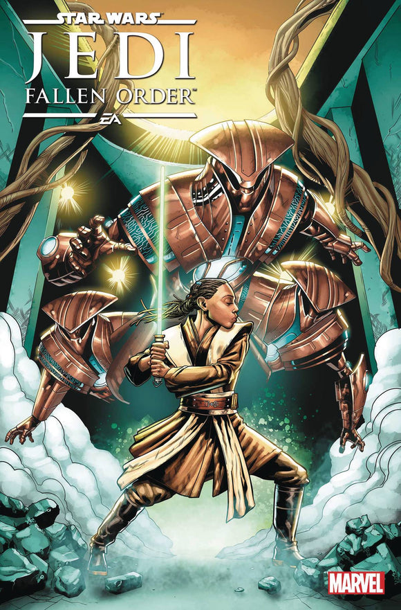 STAR WARS JEDI FALLEN ORDER DARK TEMPLE (2019) #4 (OF 5)