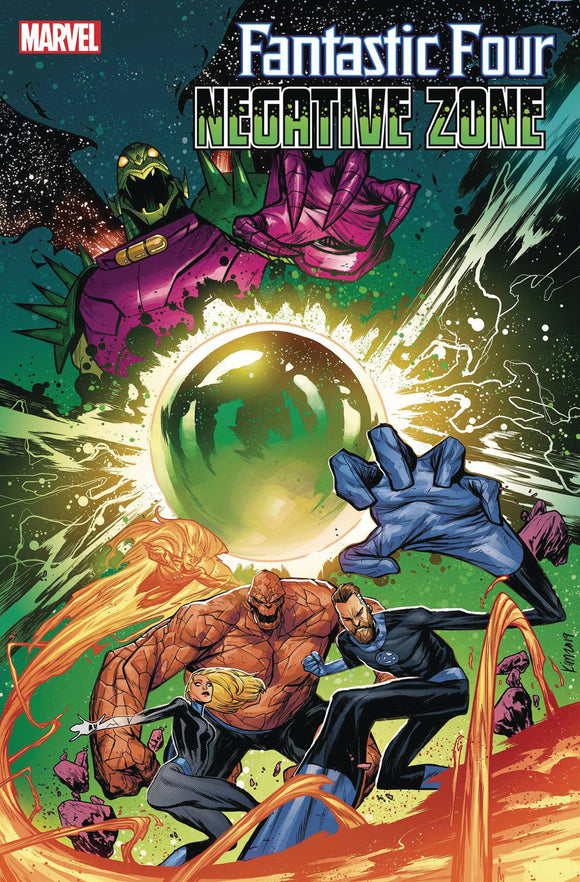 FANTASTIC FOUR NEGATIVE ZONE #1