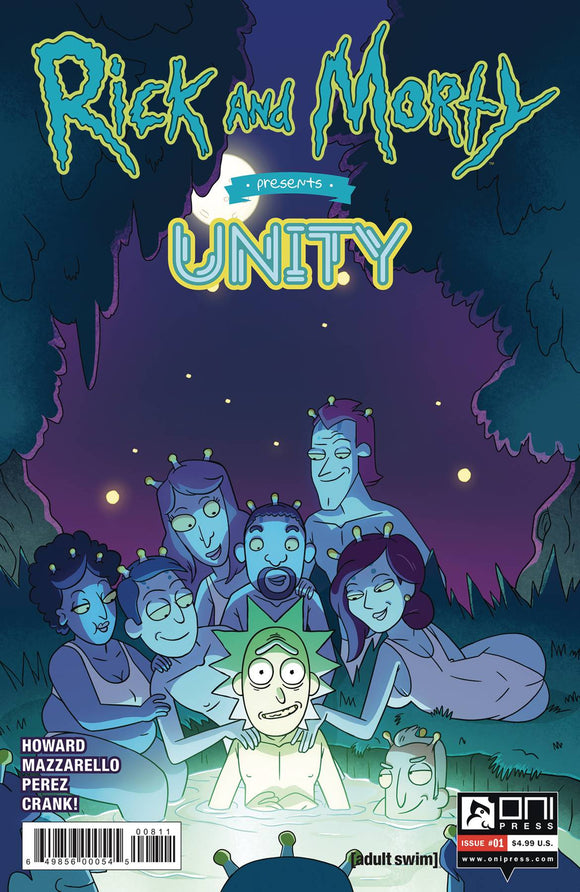 Rick and Morty Presents Unity (2019) #1 (COVER A CANNON)