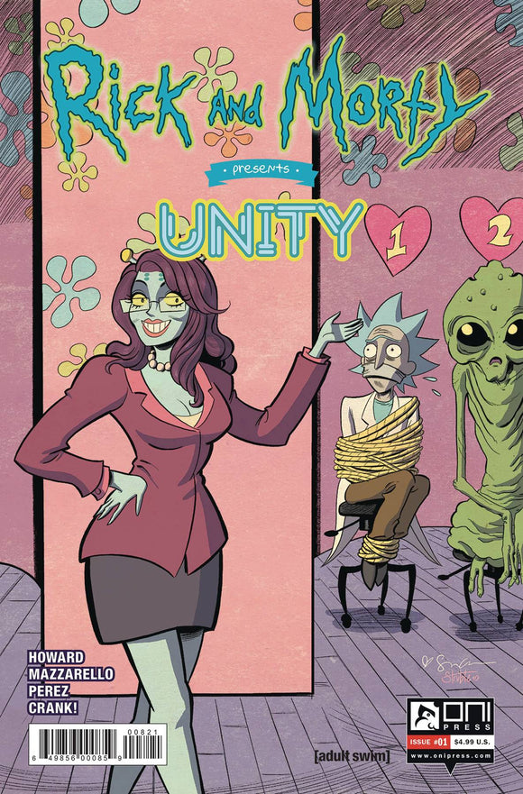 Rick and Morty Presents Unity (2019) #1 (COVER B GRACE)