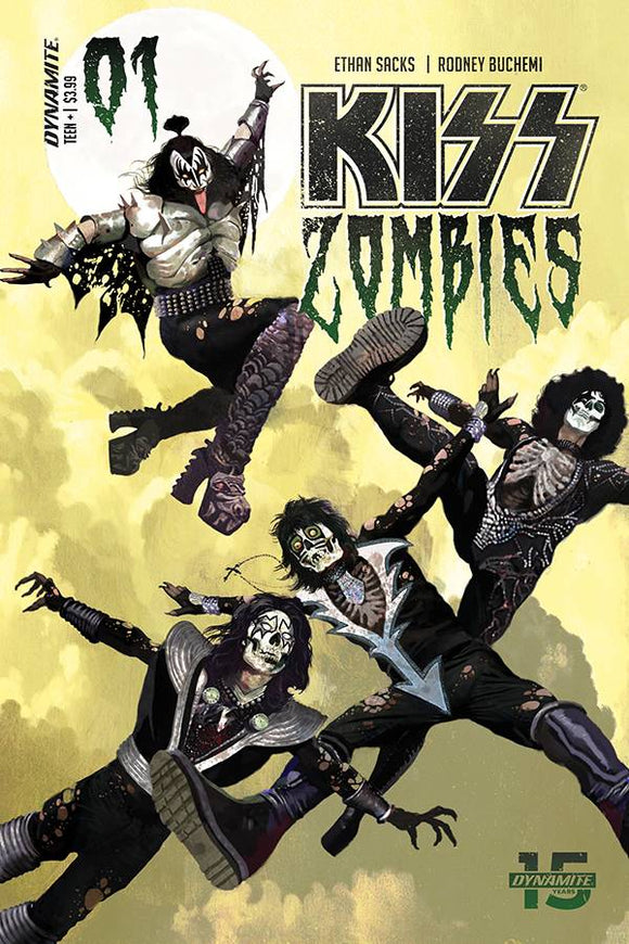 KISS Zombies (2019) #1 (COVER A SUYDAM)