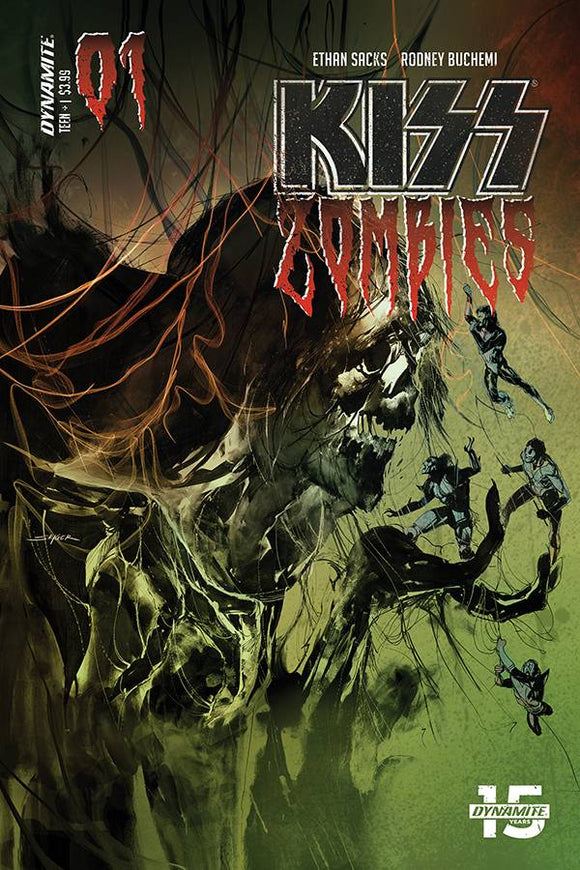 KISS Zombies (2019) #1 (COVER B SAYGER)