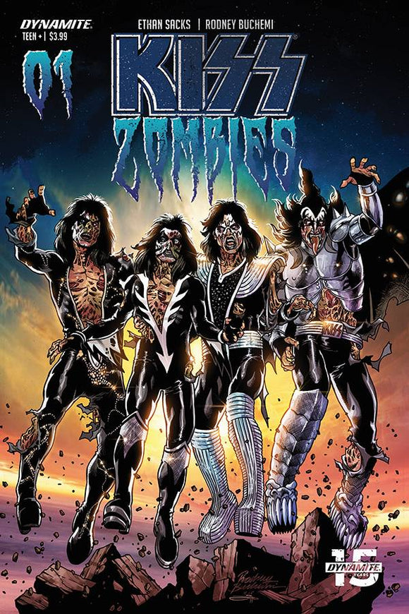 KISS Zombies (2019) #1 (COVER C BUCHEMI)