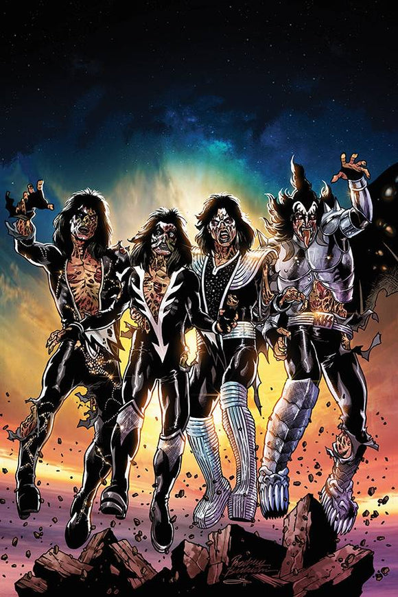 KISS Zombies (2019) #1 (1:20 BUCHEMI VIRGIN INCV)