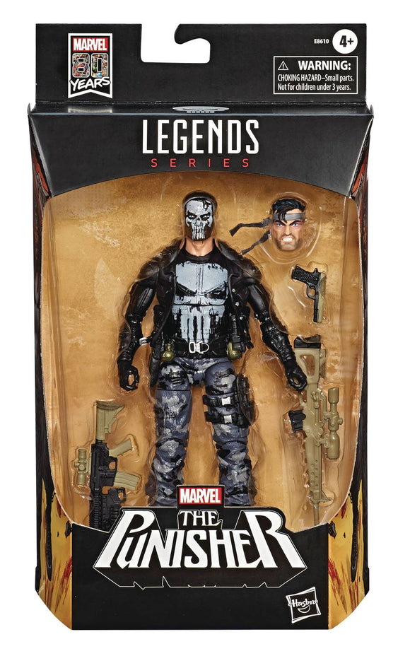 MARVEL LEGENDS PUNISHER VARIANT 6I-INCH ACTION FIGURE