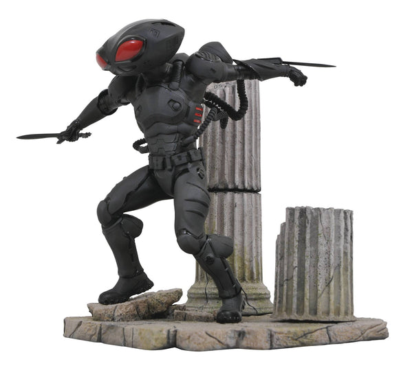 DC COMICS GALLERY AQUAMAN MOVIE BLACK MANTA PVC STATUE