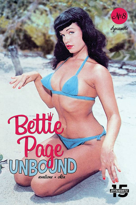 Bettie Page Unbound (2019) #8 (COVER E PHOTO)