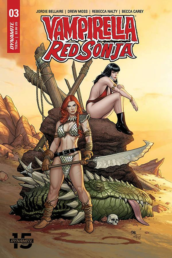 Red Sonja Vampirella (2019) #3 (COVER A CHO & RICH)