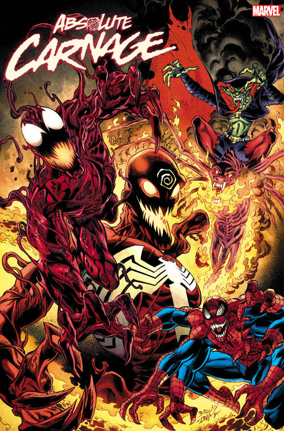 Absolute Carnage (2019) #5 (1:25 BAGLEY CULT OF CARNAGE VAR AC)