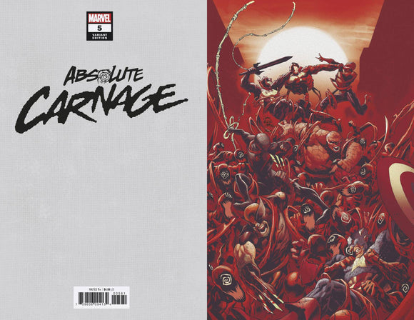 Absolute Carnage (2019) #5 (1:100 STEGMAN VIRGIN VAR AC)