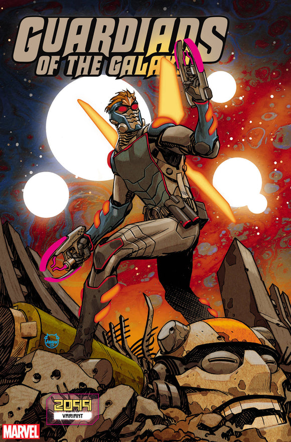 Guardians of the Galaxy (2019) #11 (JOHNSON 2099 VAR)