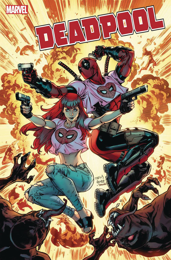 Deadpool (2019) #1 (GOMEZ MARY JANE VAR)