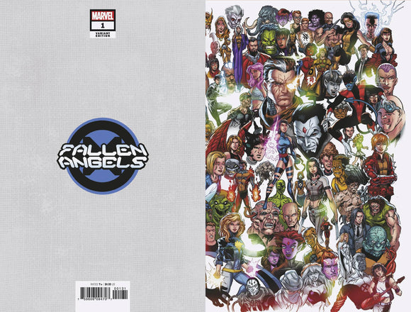 Fallen Angels (2019) #1 (BAGLEY EVERY MUTANT EVER VAR DX)