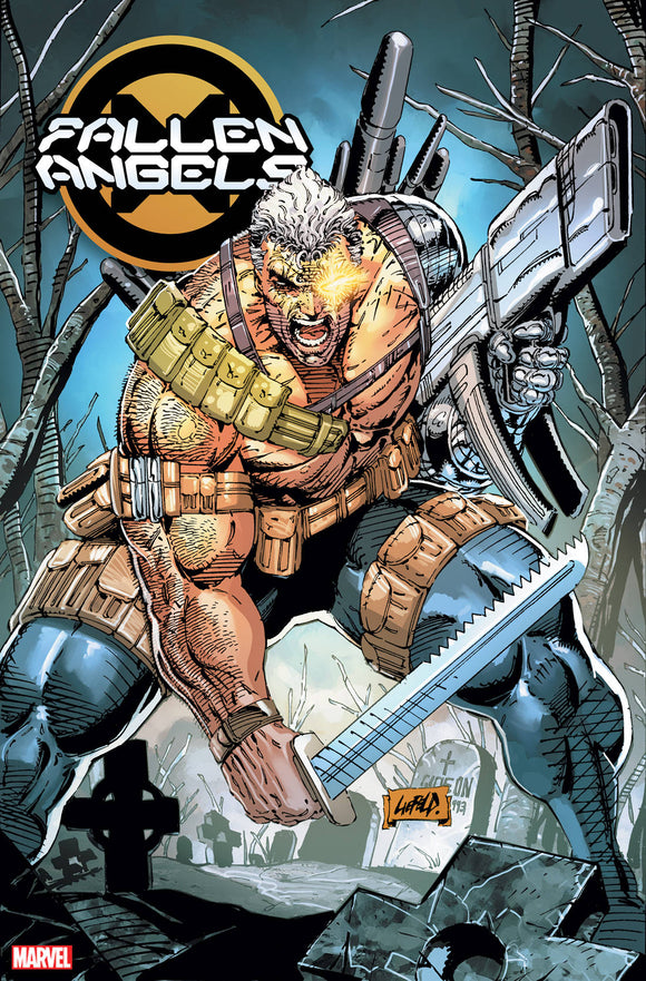 Fallen Angels (2019) #1 (1:100 LIEFELD HIDDEN GEM VAR DX)