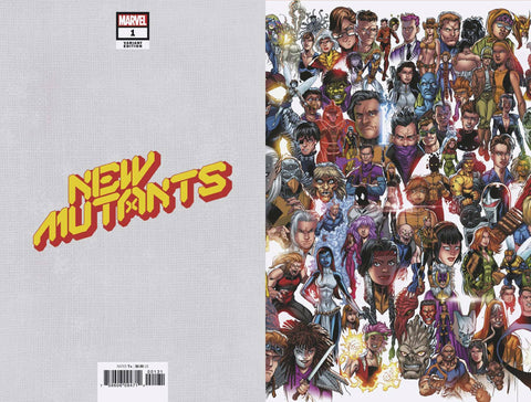 New Mutants (2019) #1 (BAGLEY EVERY MUTANT EVER VAR DX)