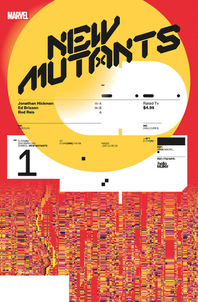 New Mutants (2019) #1 (1:10 MULLER DESIGN VAR DX)