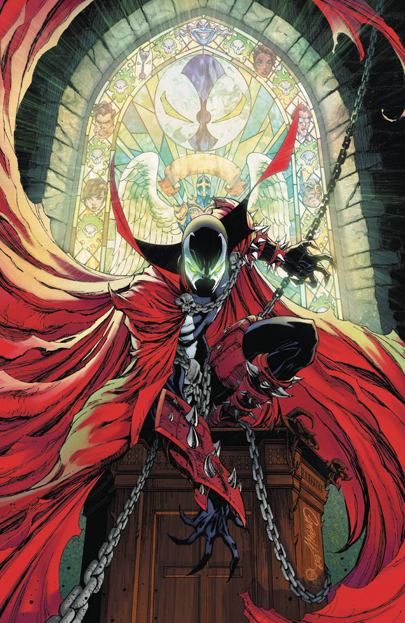 Spawn (1992) #300 (CVR M CAMPBELL VIRGIN)