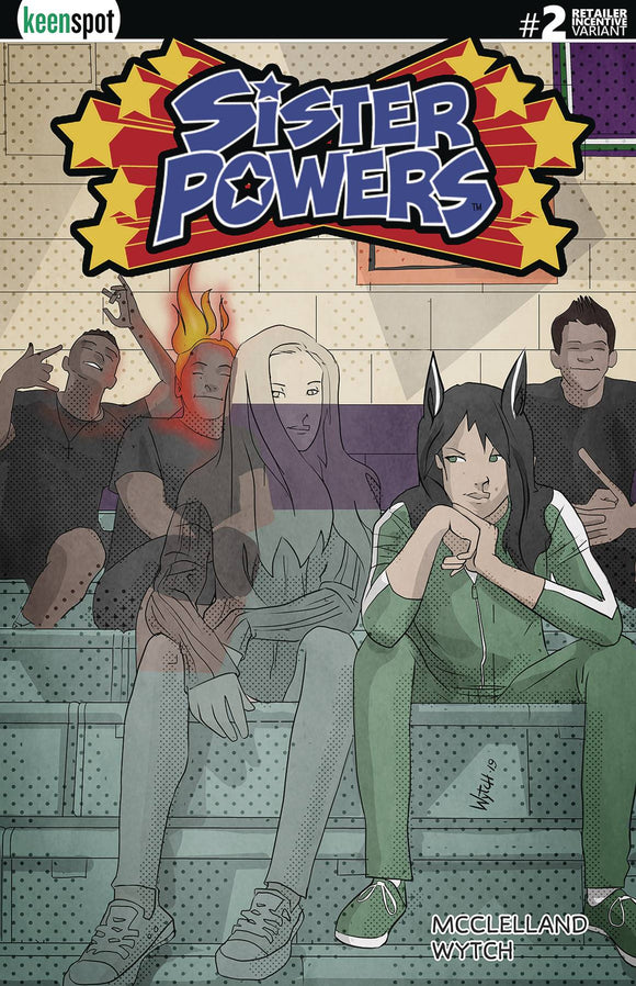 Sister Powers (2019) #2 (1:5 INCV CVR E TRANSFORMED)