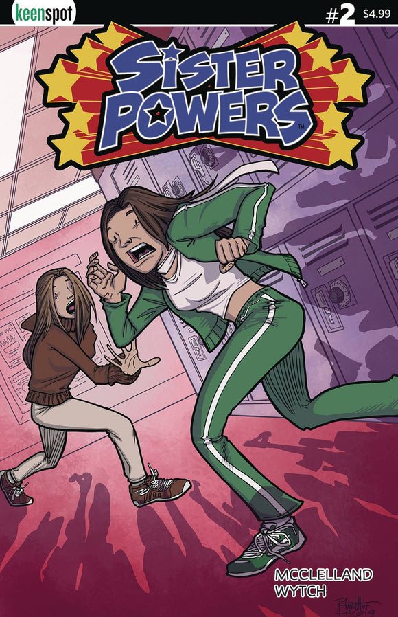 Sister Powers (2019) #2 (CVR D JERRY BENNET)