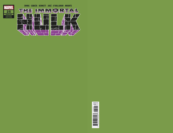 Immortal Hulk (2018) #25 (Green Variant)