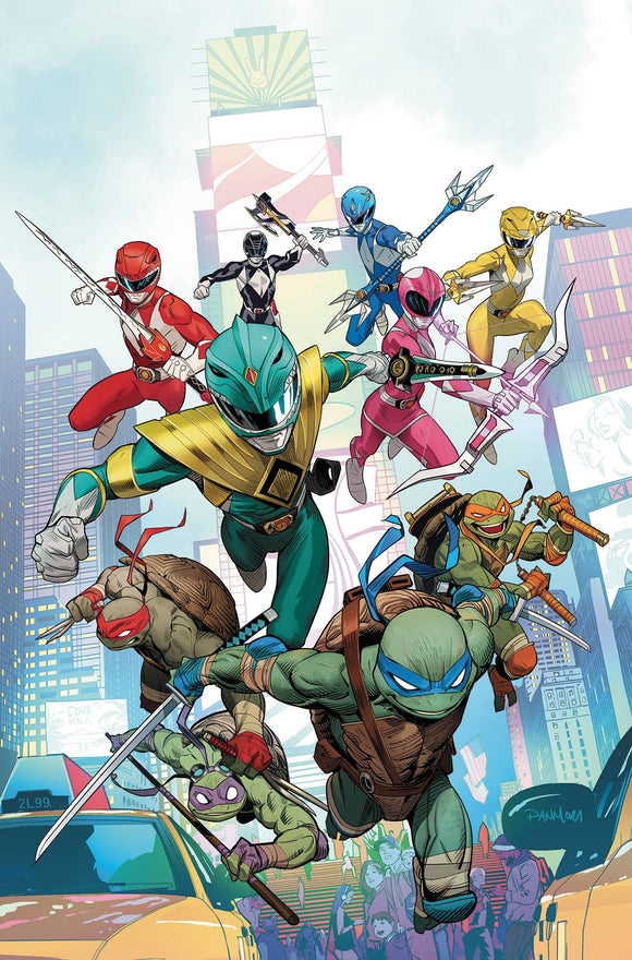 Power Rangers Teenage Mutant Ninja Turtles (2019) #1 (CVR A MORA)