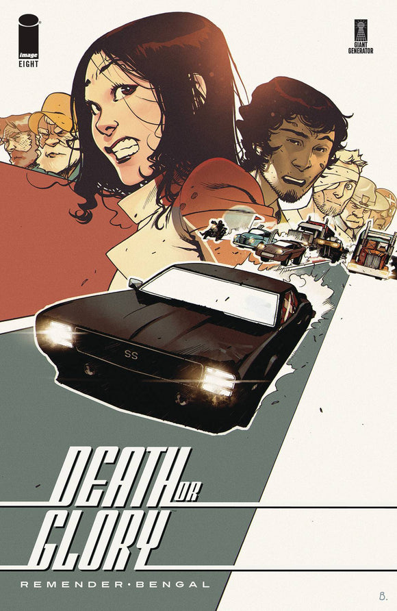 Death or Glory (2018) #8 (CVR A BENGAL)