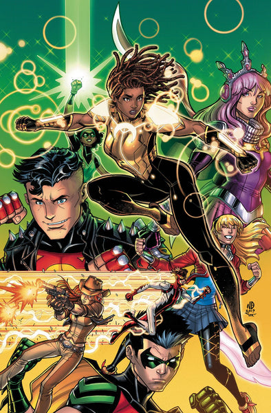 Young Justice (2019) #11 (CARD STOCK VAR ED)