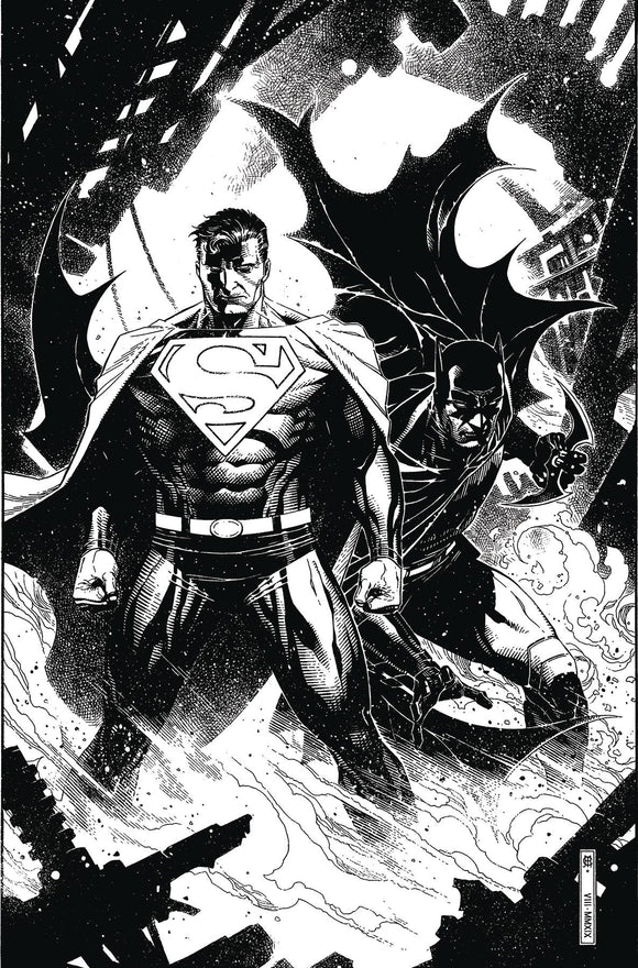Batman Superman (2019) #5 (CARD STOCK VAR ED)
