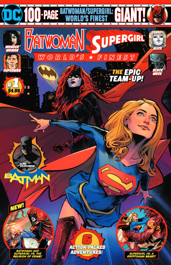 Batwoman Supergirl Worlds Finest Giant (2019) #1