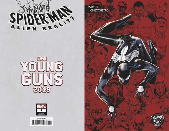 Symbiote Spider-Man Alien Reality (2019) #1 (CHECCHETTO YOUNG GUNS VAR)